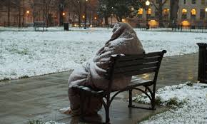 Homeless in the winter