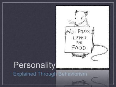 behavior personality